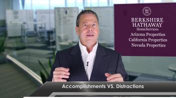 Accomplishments vs Distractions – Work
